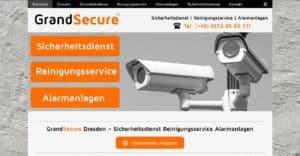 GrandSecure Sicherheitsdienst Dresden   Kostenlose Sicherheitsanalyse