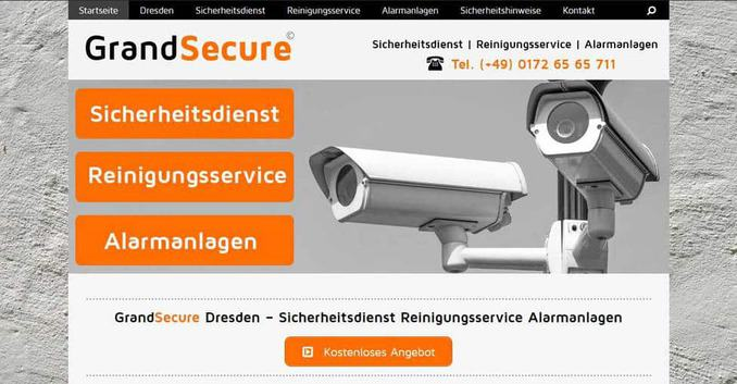 GrandSecure Sicherheitsdienst Dresden