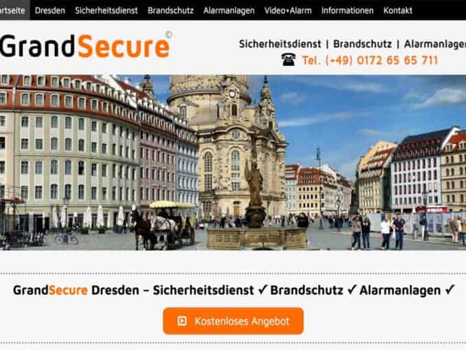 Sicherheitsdienst Dresden | Kostenlose Sicherheitsanalyse