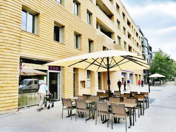 Kaffee in Johannstadt Dresden