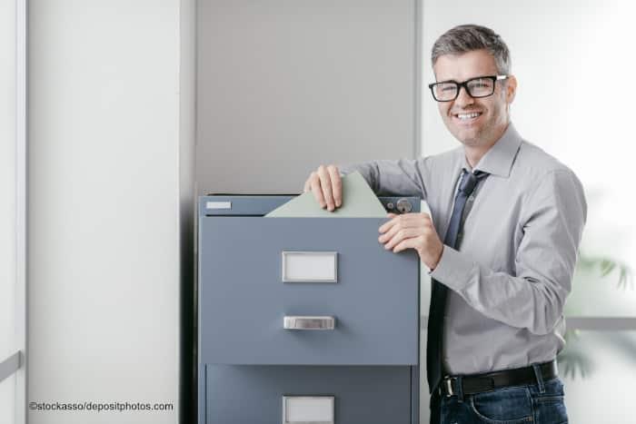 Abschließbare Büroschränke