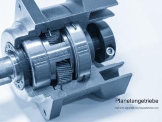 Planetengetriebe offen